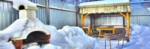 Баня самара зима